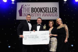 Booka Bookshop of Oswestry wins Independent Bookshop of the Year award!!!