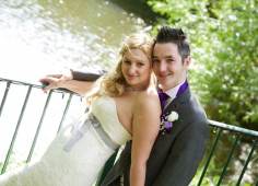 Local Wedding of St Neots Couple - June 2015