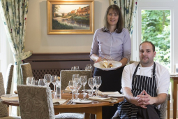 Chez Maw Restaurant in Ironbridge Telford  gets new look and new menu.