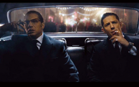 Tom Hardy plays the Kray Twins in Legend at Shrewsbury Cineworld