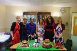 Baking good time at Hitchin's Pinehill Hospital