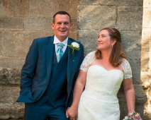 Marriage of St Neots couple - Sept 2015