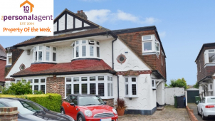 Property of the week - 4 Bed Semi-detached - Calverley Road, Stoneleigh, Surrey - @PersonalAgent #Epsom