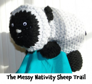 Don't be sheepish kids join the Messy Nativity Sheep Trail for @Childrens_Trust