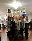 Celebrating 9 years in business - the fab folks at JAM Hair!
