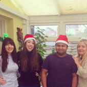 Festive Friday in the bestof Epsom and Ewell's Office for @Childrens_Trust!