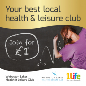 New equipment & Join for £1 at Wyboston Health & Fitness Club St Neots