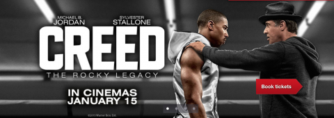 Win 2 Free Tickets to see Creed