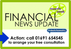Financial Update from Morris Cook Chartered Accountants -  MAY 2016