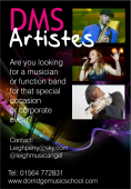 Need  A  Musician or Function Band for 'Special Occasions'?