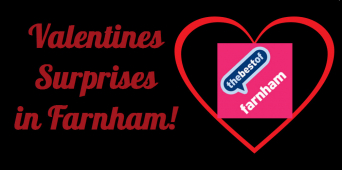 Find the perfect Valentine gifts in Farnham