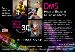 Loads to get involved with at Dorridge Music School  this month