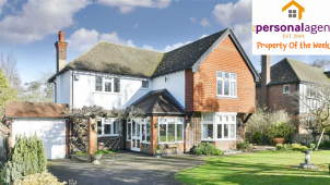 Property of the week - 4 Bed Detached House - Ewell Downs Road, Epsom, #Surrey @PersonalAgentUK
