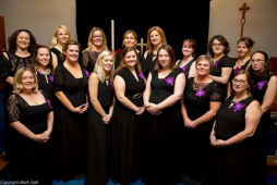 Stafford Military Wives Choir perform at Lichfield fundraising concert