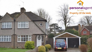 Property of the Week – 3 Bed Semi – Ewell Park Way #Ewell  #Surrey @PersonalAgentUK  planning for additional house