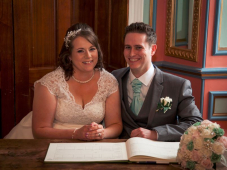 Wedding of Huntingdon Couple - March 2016