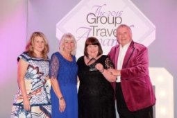 Epsom Coaches winners at The Group Travel Awards