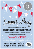 Books?  and cake?  and Party?  Oh Rather!
