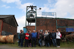 Cast of Lichfield Garrick's The Hired Man Experience Working Life Down the Mines
