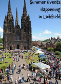 Summer events happening in Lichfield