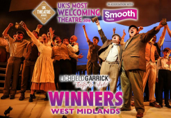 Lichfield Garrick wins award for West Midland's Most Welcoming Theatre!