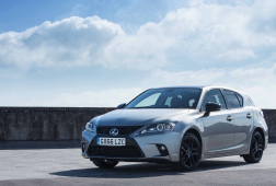 The Lexus CT 200h Speeds into 2017 in Style