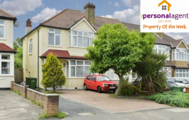 Property of the Week – 3 Bed Semi Detached House – Bridgewood Road #WorcesterPark #Surrey @PersonalAgentUK