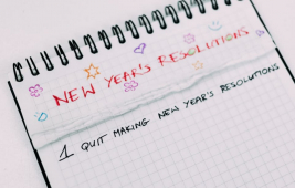 New Year's resolutions - and how you can stick to them!