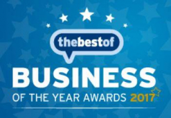 Who won in the 2017 Business of the Year Awards?