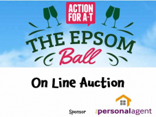 Epsom Ball Fundraising On Line Auction for @ActionforAT sponsored by @PersonalAgentUK