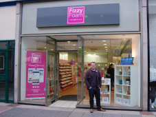 Fizzy Foam - From Market stall to Shopping Centre