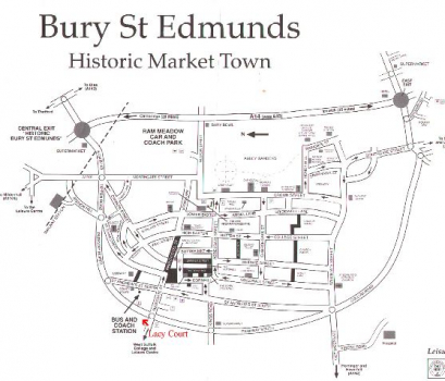 bury st edmunds shopping guide
