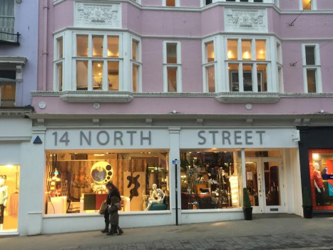 14 north street, home and, art shop, furniture store, brighton, hove