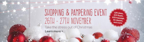 float, spa, christmas, shopping, event