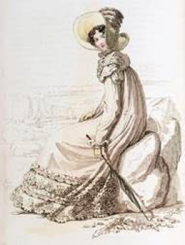 jane, austen, by, rudolf, ackerman, exhibition, royal, pavilion, walking, dress