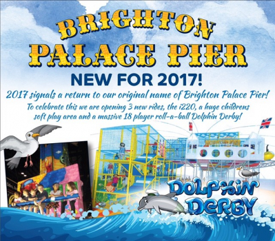 brighton, palace, pier, 2017, new, attractions