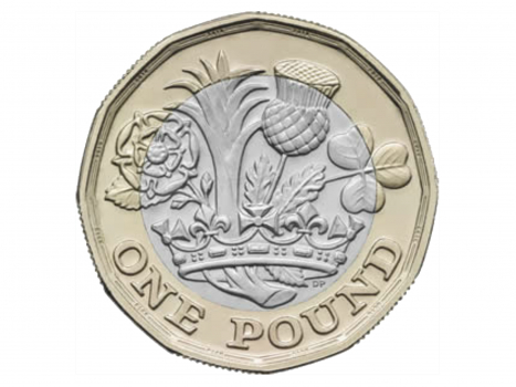 new,pound,coin,financial,currency