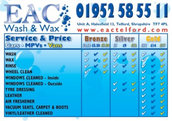 Full Valet Car Wash Prices