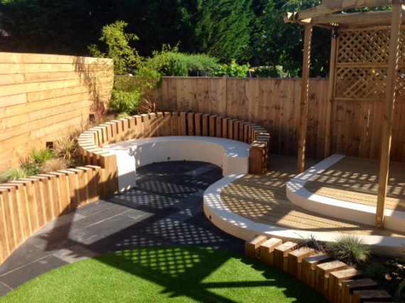 Jason 39 s garden landscaping garden design and build in for Garden design eastbourne