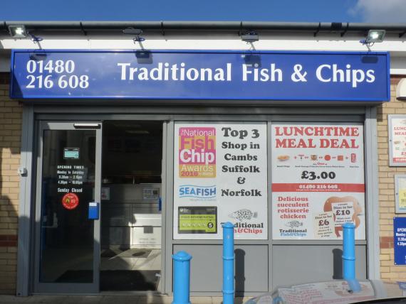 Fish Chips Denmark Street Bedford