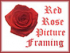 Red Rose Picture Framing