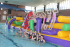 Aquascramble Pool Inflatable Sessions at Burntwood Leisure Centre