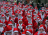 The Great Cardiff Bay Santa and Elf Dash 2015