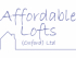 Affordable lofts builders logo