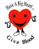 Save a Life - Give Blood!