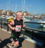 Jason McCabe asks for support in the Eastbourne Half-Marathon