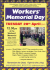 WORKERS' MEMORIAL DAY Wolverhampton
