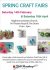 Creative Craft Fair - Sat 18th April - Brighton Unitarian Church nr The Dome - FREE Entry