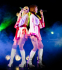 Take a chance, take a chance on Abba tribute duo