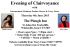 An Evening of Clairvoyance with International Mediums Pauline Mason & Tracy Fance